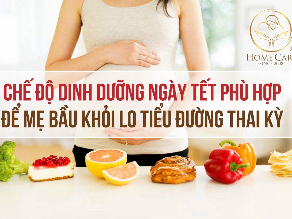 Chế độ dinh dưỡng ngày tết cho mẹ bầu
